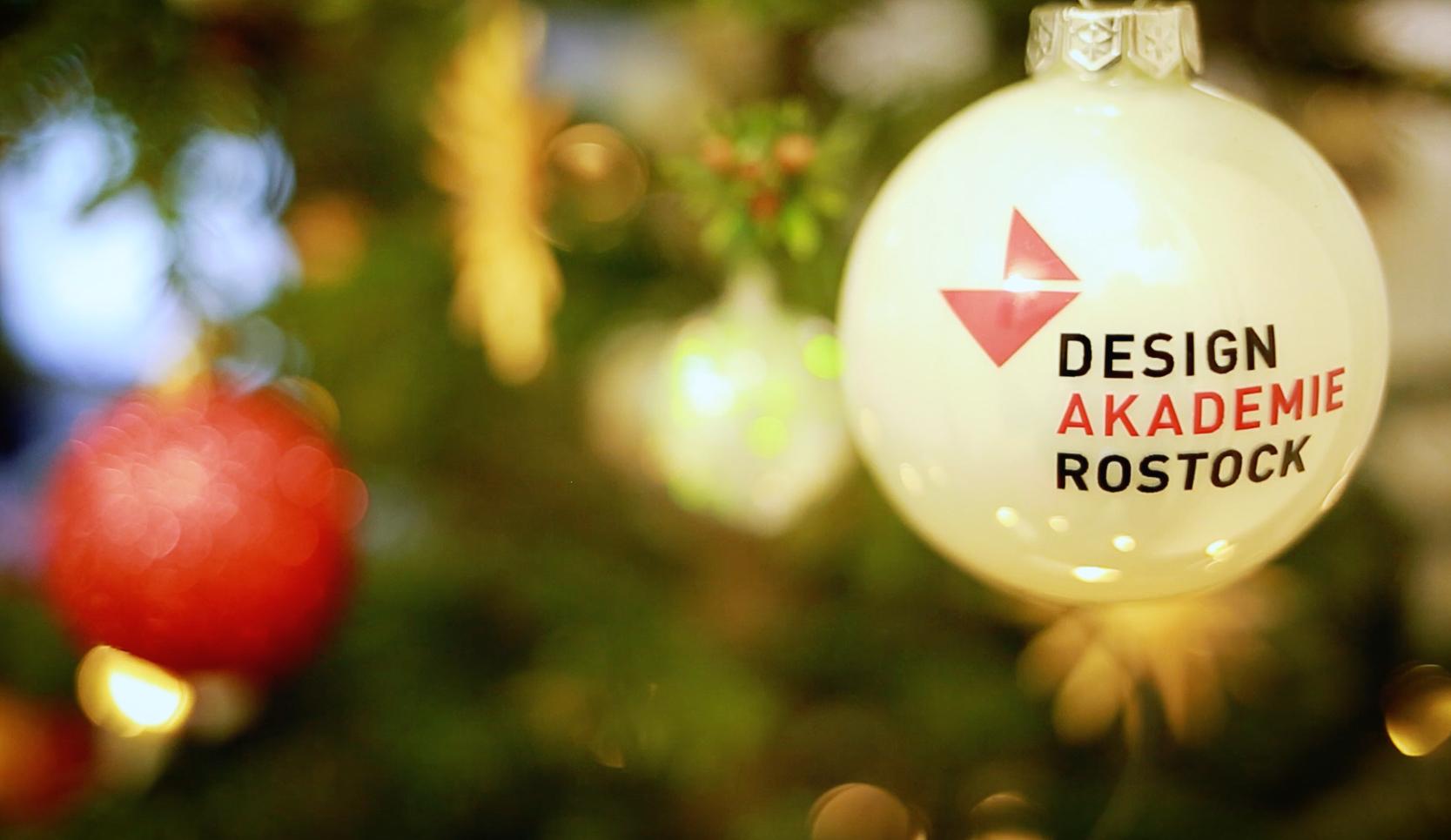 Weihnachten an der Designakademie Rostock