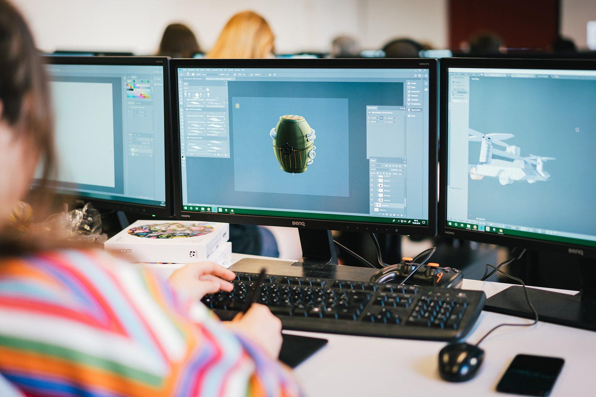 3D-Visualisierung | Gamedesign
