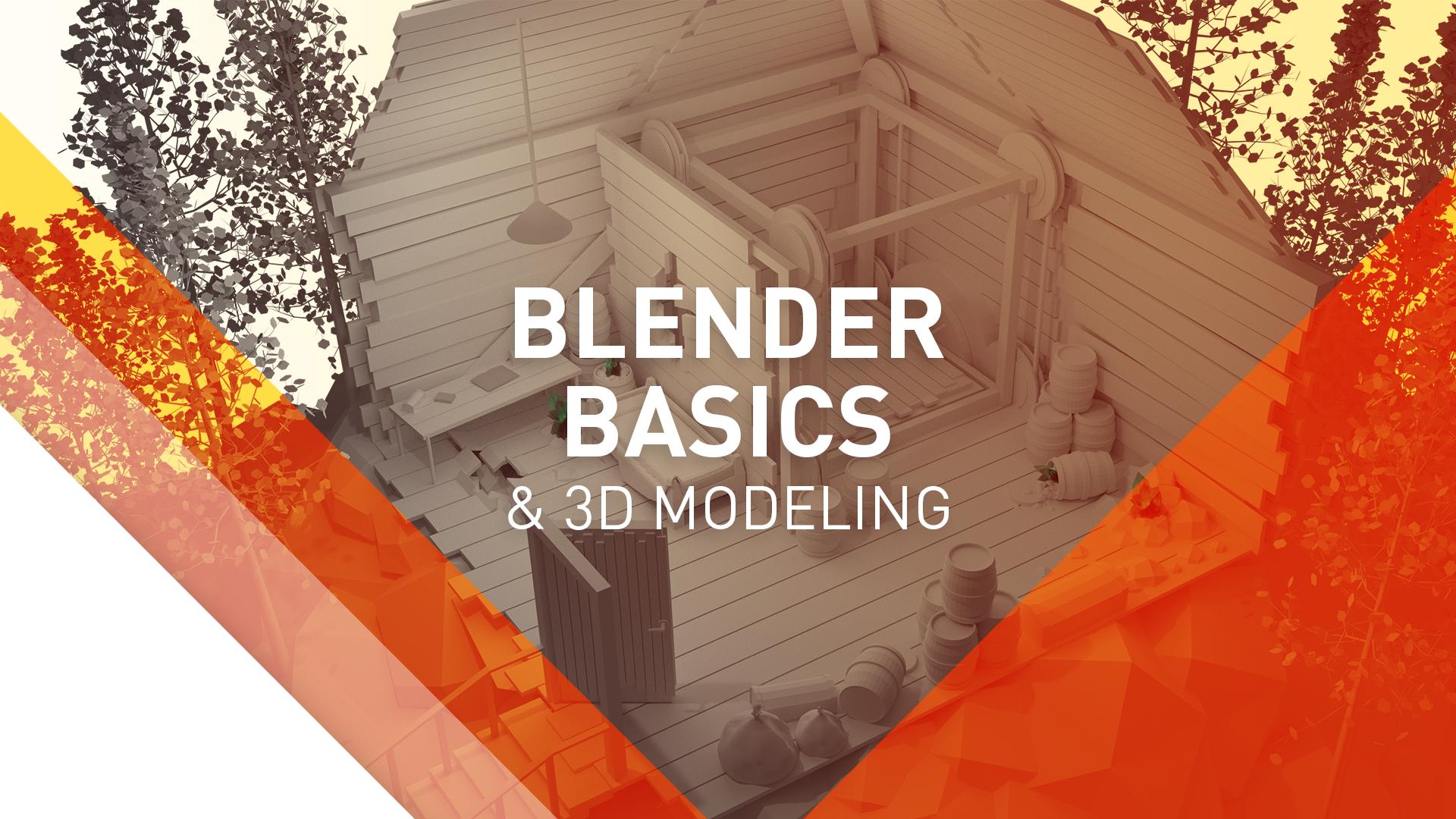 blender basics banner