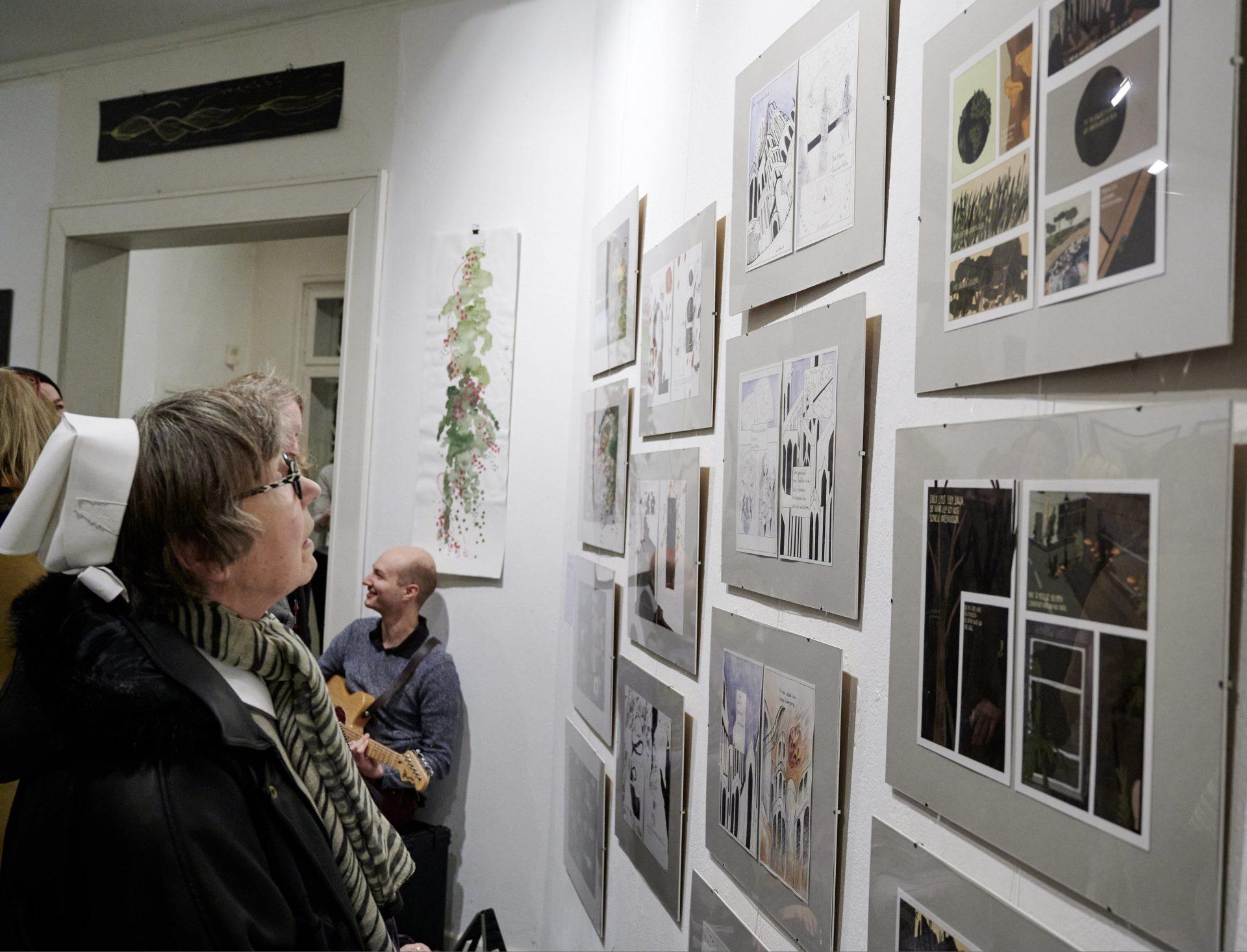 Ausstellungseröffnung im Roten Pavillon, Bad Doberan