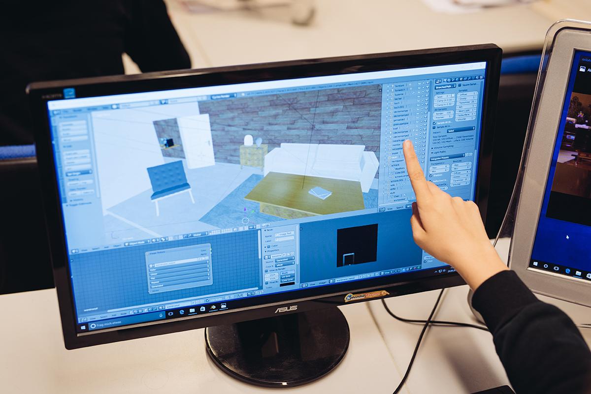 3D-Visualisierung / Gamedesign
