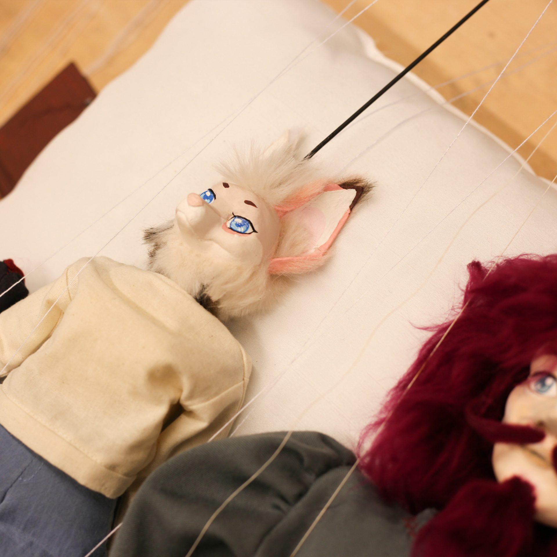 Nix mit Faden verlieren - Marionetten in der Designakademie