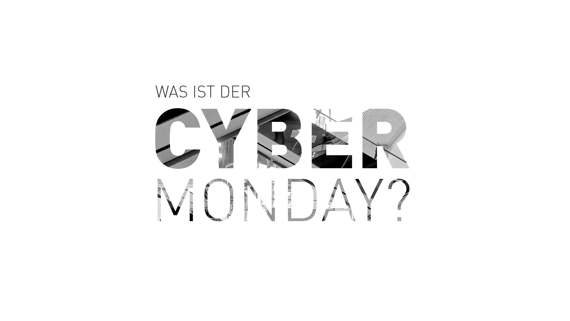 was ist der cyber monday